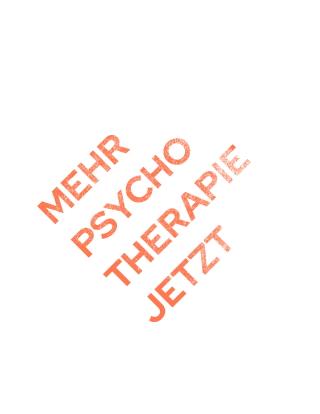 #mehrpsychotherapiejetzt